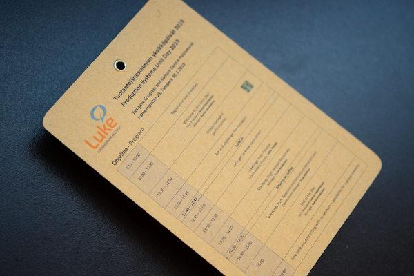 Metallisella vahvikerenkaalla lävistetty valkaisematon passi